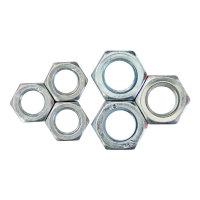京固 GB52 4級鍍鋅螺母 螺帽 六角螺母