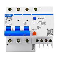 正泰CHNT 小型漏电断路器NXBLE-32C型3P+N