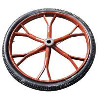 [配件]手推车管圈实心橡胶胎