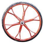 [配件]手推车加重管圈实心橡胶胎