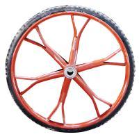[配件]沪洋 手推车加重管圈实心橡胶胎