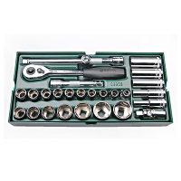 世达SATA 公制工具托12.5mm系列27件套