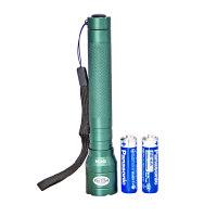 赫力斯HELISI 长型铝合金手电筒(含电池)
