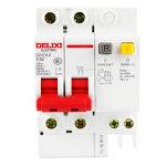 德力西DELIXI 小型漏电保护器DZ47sLE/C型2P