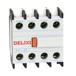 德力西DELIXI 交流接触器顶辅助触头F4型