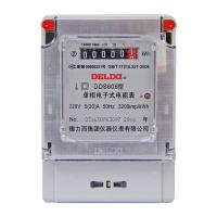 德力西DELIXI 电子式单相电度表DDS606型220V