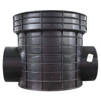 海井 塑料检查井流槽式直通井座
