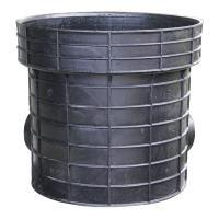 海井 塑料检查井流槽式90°弯头井座