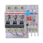 德力西DELIXI 透明小型漏电保护器DZ47LE/C型3P