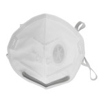 朝美 呼吸阀折叠式KN95防尘口罩6002A-3L