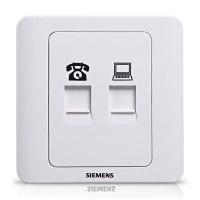 西门子SIEMENS 电脑+电话插座远景系列